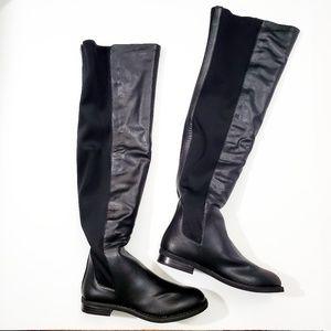 Penny Loves Kenny Black OTK Boot Vegan Leather NEW